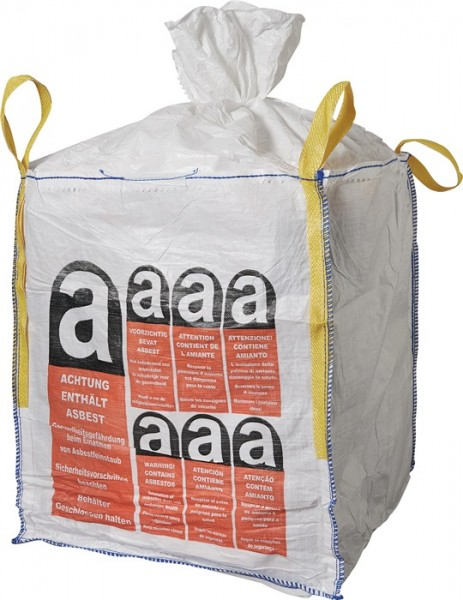Transportsack BIG BAG 900 x 900 x 1100 - 1000 kg ASBEST